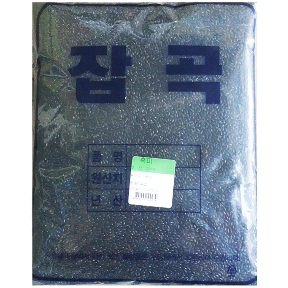 흑미(일반 4K) 흑미 검정쌀