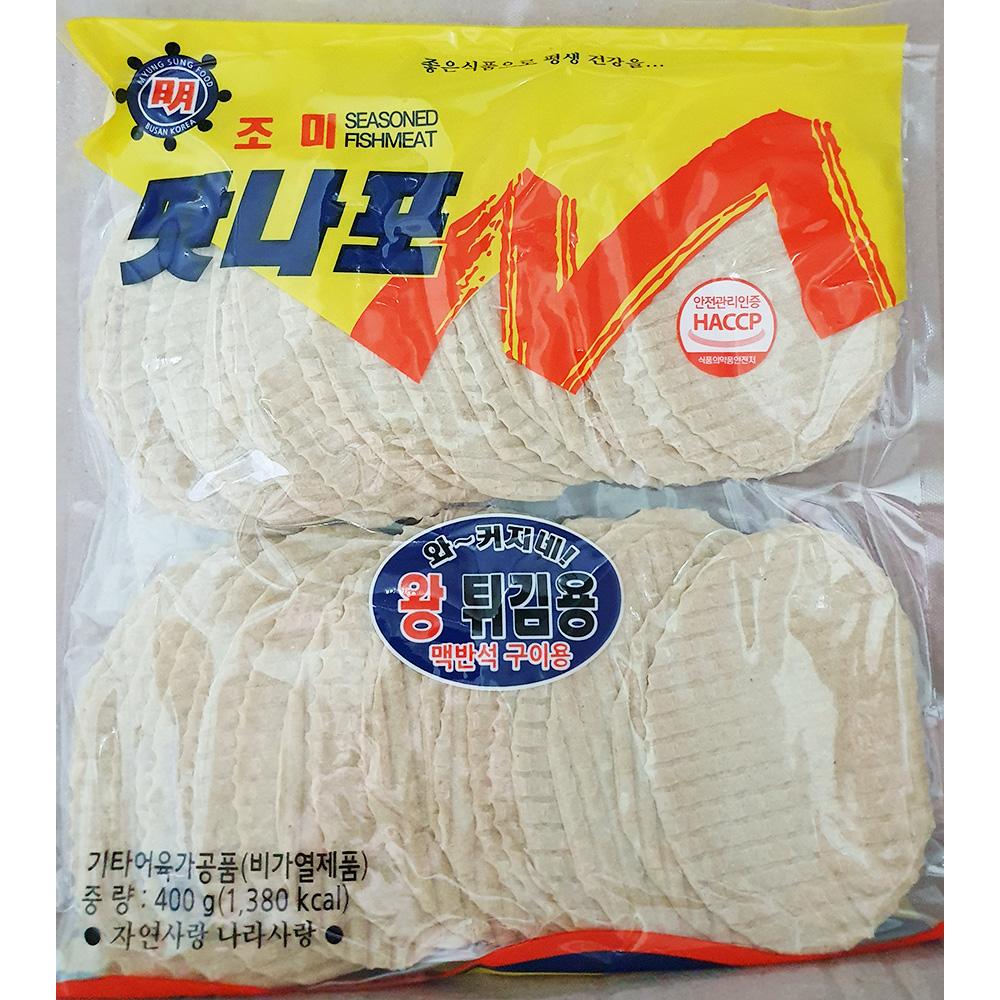 쥐포(튀김용 400g) 생선포 생선조미포 안주 레드와인비니거 조미어포
