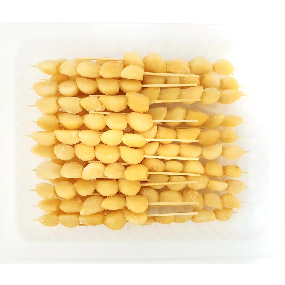 마늘꼬치(25gx20) 통마늘꼬치 마늘쫑꼬치 꼬치 꼬지 즉석요리 마늘꼬치구이 간편식 HMR