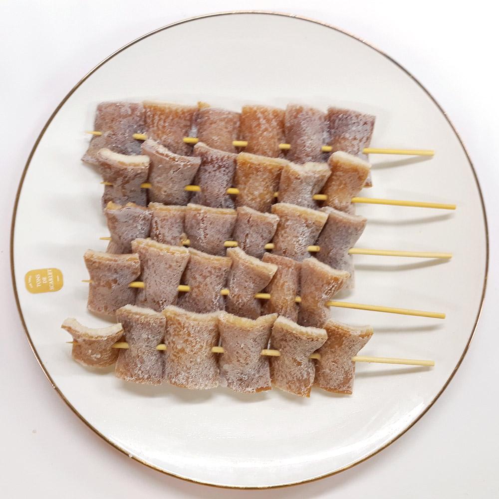 돼지껍데기꼬치(45gx10) 돼지꼬치 껍데기꼬치 꼬치 꼬지 즉석요리 돼지껍데기꼬치구이 간편식 HMR