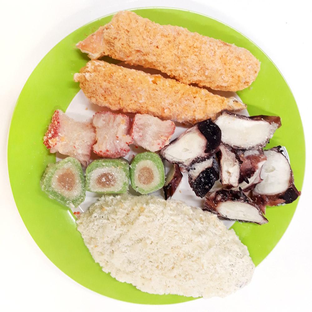 모듬해물(240g) 해물모듬 모듬튀김 혼합튀김 아이들간식 간편식 hmr